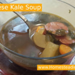 Kale Soup | www,HomesteadingMom.com