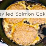 Salmon-cakes-in-cast-iron-skillet featured image