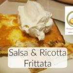 Salsa Ricotta Frittata | Easy and Delicious | Cheap Eats | www.HomesteadingMom.com
