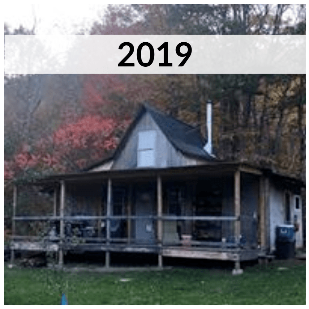 Cabin Progress 2019